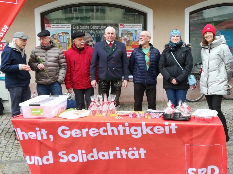 Infostand Berchtesgaden Marktplatz